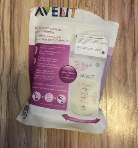 Пакеты для хранения грудного молока Philips Avent