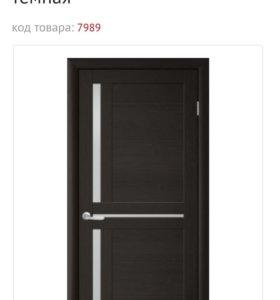 Дверь межкомнатная 80см (новая)