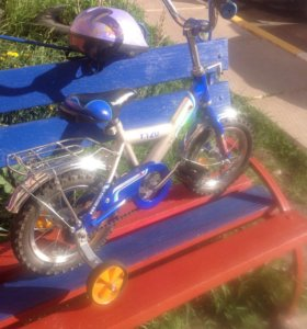 Детски велосипед со шлемом