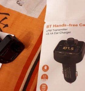 Bluetooth,вольтметр,fm передатчик/трансмитер