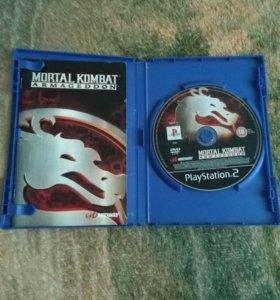 Диски на PS2.
