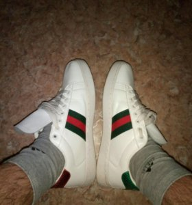 Кеды gucci кроссовки