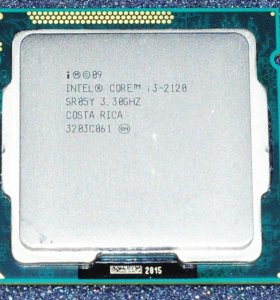 процессор core i3-2120 3,3GHZ(новый кулер бонусом)