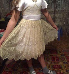 Чудесное платье для девочки