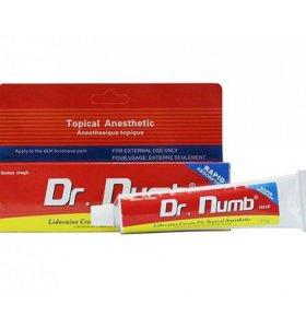 Первичная анестезия для татуажа крем Dr.Numb 30г