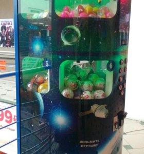 Мангустин торговый автомат по продаже игрушек