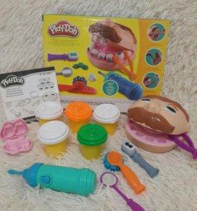 """Набор пластилина Play-Doh """"Мистер Зубастик""""."""