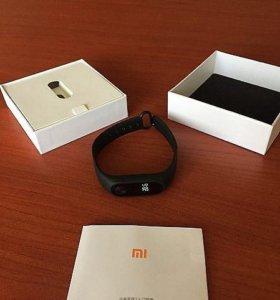 Новые Xiaomi mi band 2