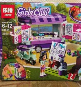 Конструктор для девочек, аналог Лего Friends