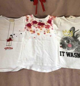 Кофточки на девочку фирмы gulliver, Zara, H&M,