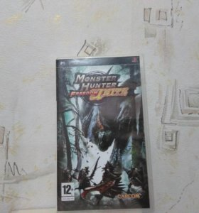 Monster Hunter unite ДИСК ДЛЯ PSP