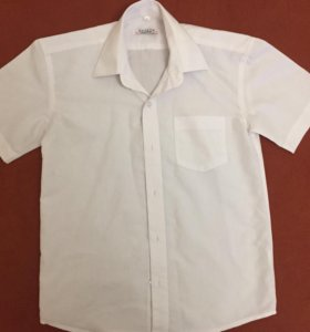 Рубашка с коротким рукавом     р.128