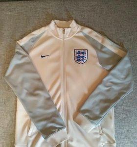 Олимпийка найк белая(сборная Англия