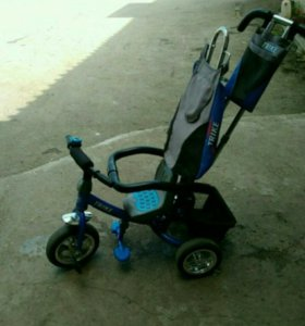 Детский трех колёсный велосипед
