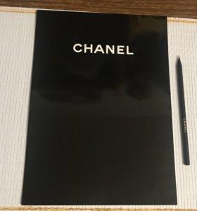 Большой Блокнот и карандаш Chanel оригинал