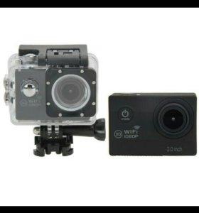 Экшен камера 4к новая