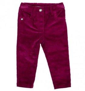 Малиновые брюки для девочки фирмы Play Today
