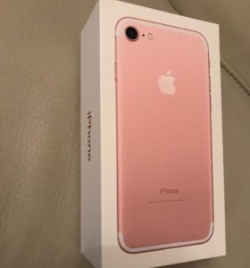 iPhone 7 32 GB Rose Gold (Новый/Запечатан)
