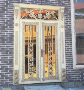 Изготовление дверей,ворот,решеток ,оград