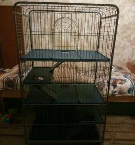 Клетка для хорьков и грызунов.