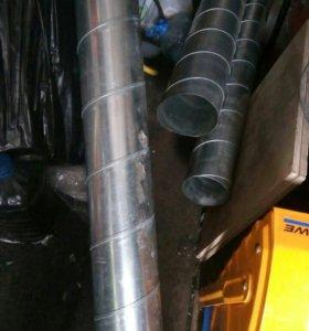 Трубы спиралевидные по 3 метра
