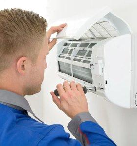 Ремонт кондиционеров, сплит-систем, холодильник