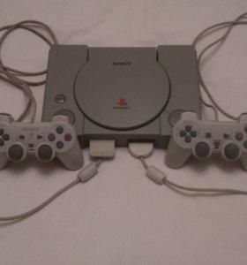 Прокат/Аренда Sony Playstation 1 (с доставкой)