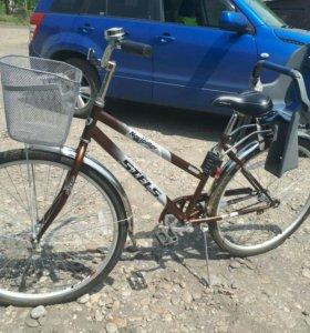 Велосипед с креслом для ребёнка