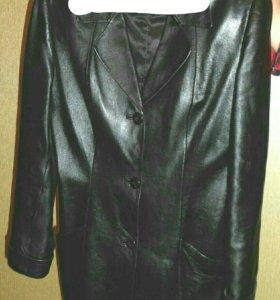 Куртка натуральная кожа, утепленная