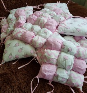 Бортики для детской кроватки.