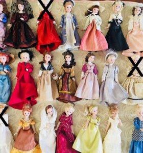 Куколки фарфоровые