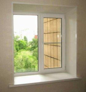 Откосы для окон и балконов. Мoнтаж подоконников
