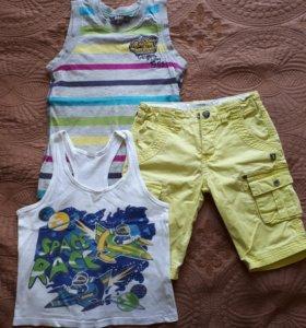 Шорты+ футболки kanz, 4-6лет