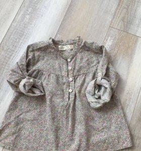 Рубашка Zara на девочку