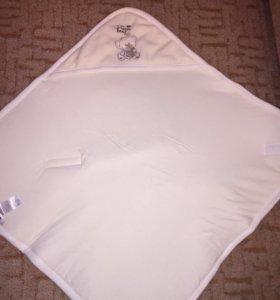 Плед-конверт для новорожденного до 6 месяцев