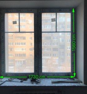 Пластиковае окно