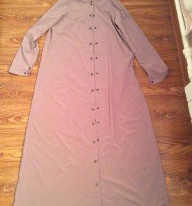 Платье рубашка длинная
