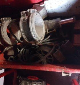 Сварочный аппарат для ПЭ трубы 110 мм