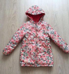Куртка mothercare демисезонная 5-6 л(110-116р)