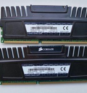 Оперативная память DDR3 Corsair Vengeance 16Gb