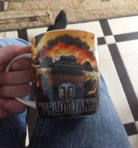 Чашка WORLD of TANKS