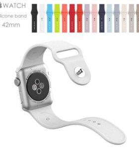 Силиконовый ремешок Apple Watch 42мм