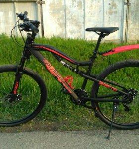 Велосипед горный с мотовилкой - новая модель