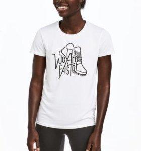 Новая спортивная футболка H&M
