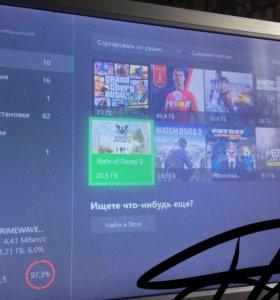 Xbox one 500 gb много игр