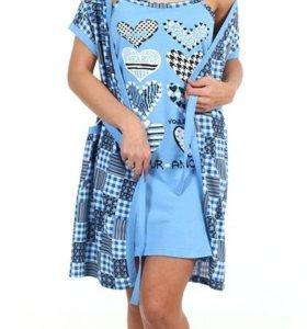 Комплект сорочка с пеньбаром