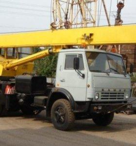 автокран-камаз 25 тонн