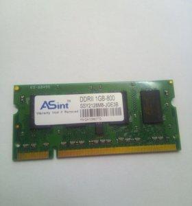Оперативная память DRR 2 – 1GB