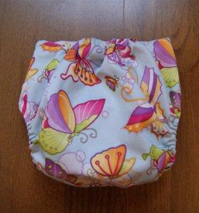 Многоразовый подгузник Бабочки