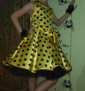Платье стильной леди